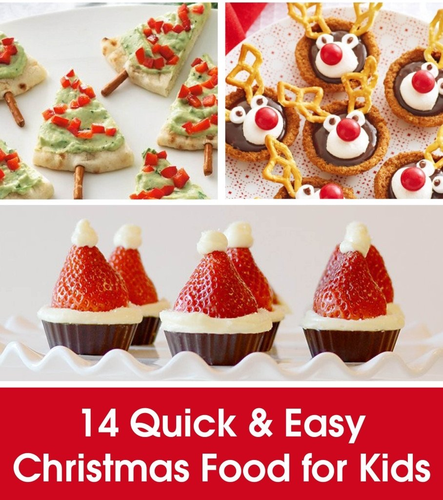 quick & easy christmas food for kids