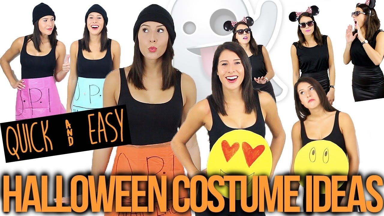 quick & easy group halloween costume ideas - youtube