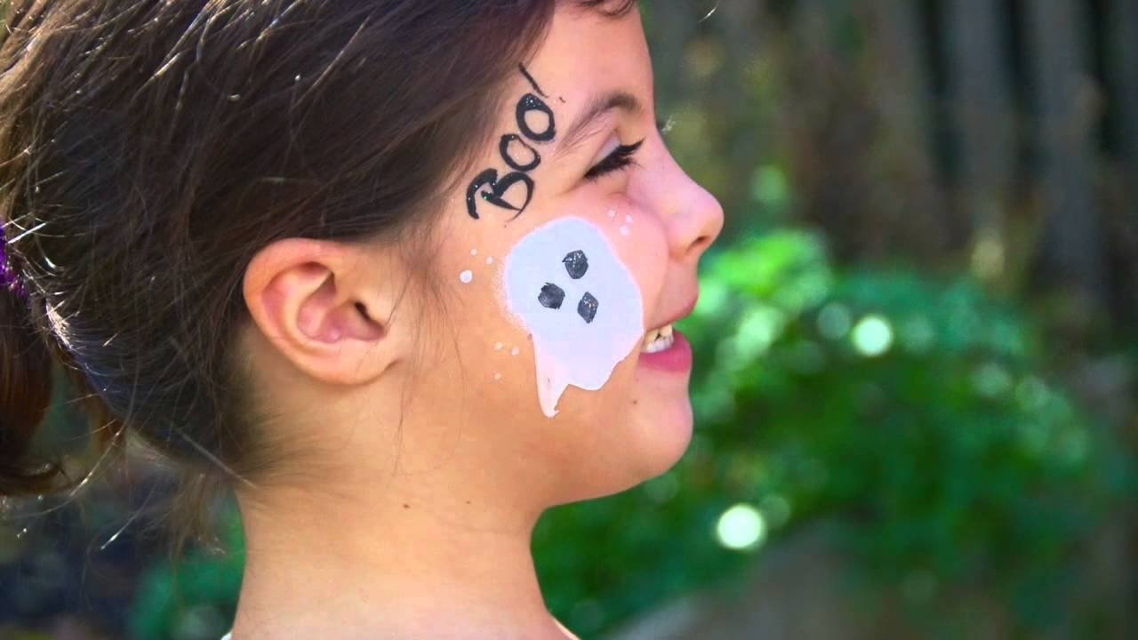 10 Unique Easy Halloween Face Painting Ideas quick easy halloween face paint ideas youtube 2020