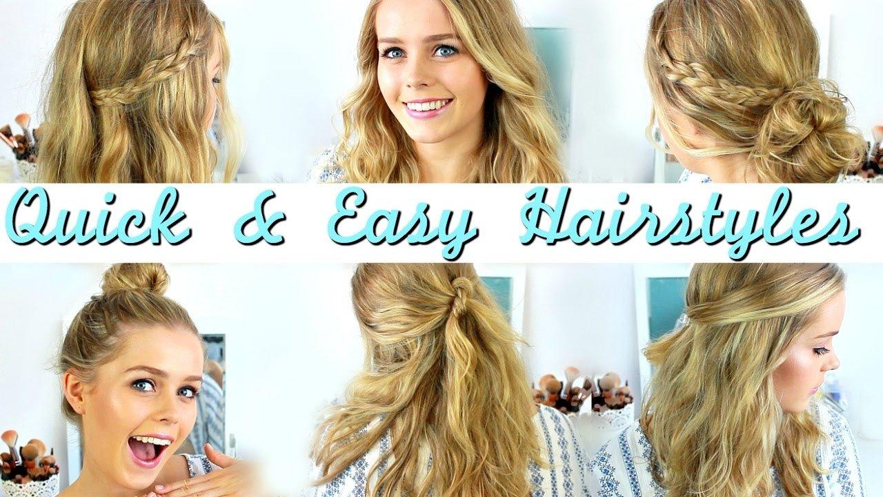 10 Spectacular Hair Ideas For Medium Length Hair quick easy heatless hairstyles how to style medium length hair 2020