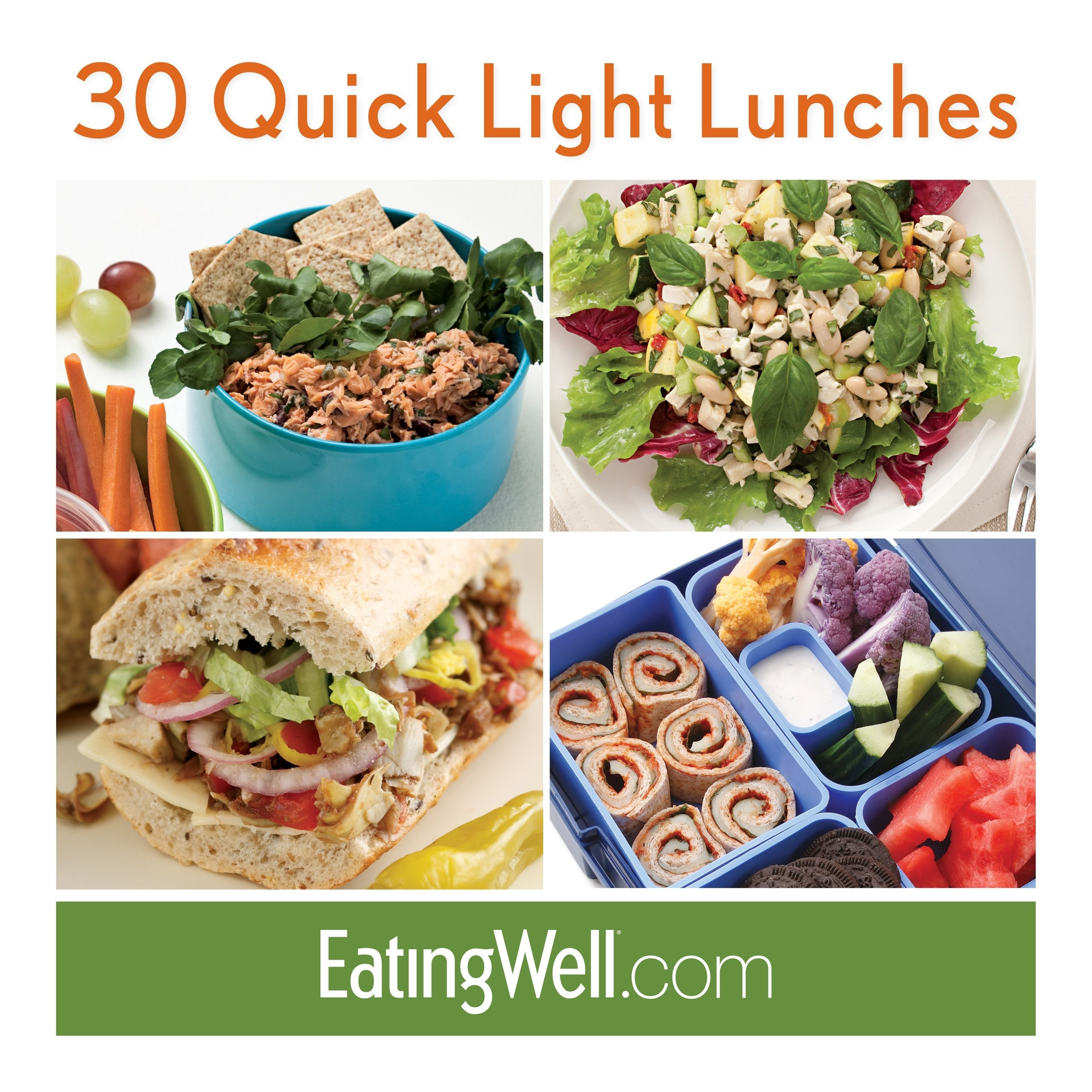 quick & easy lunch ideas to pack and take to work or school | light