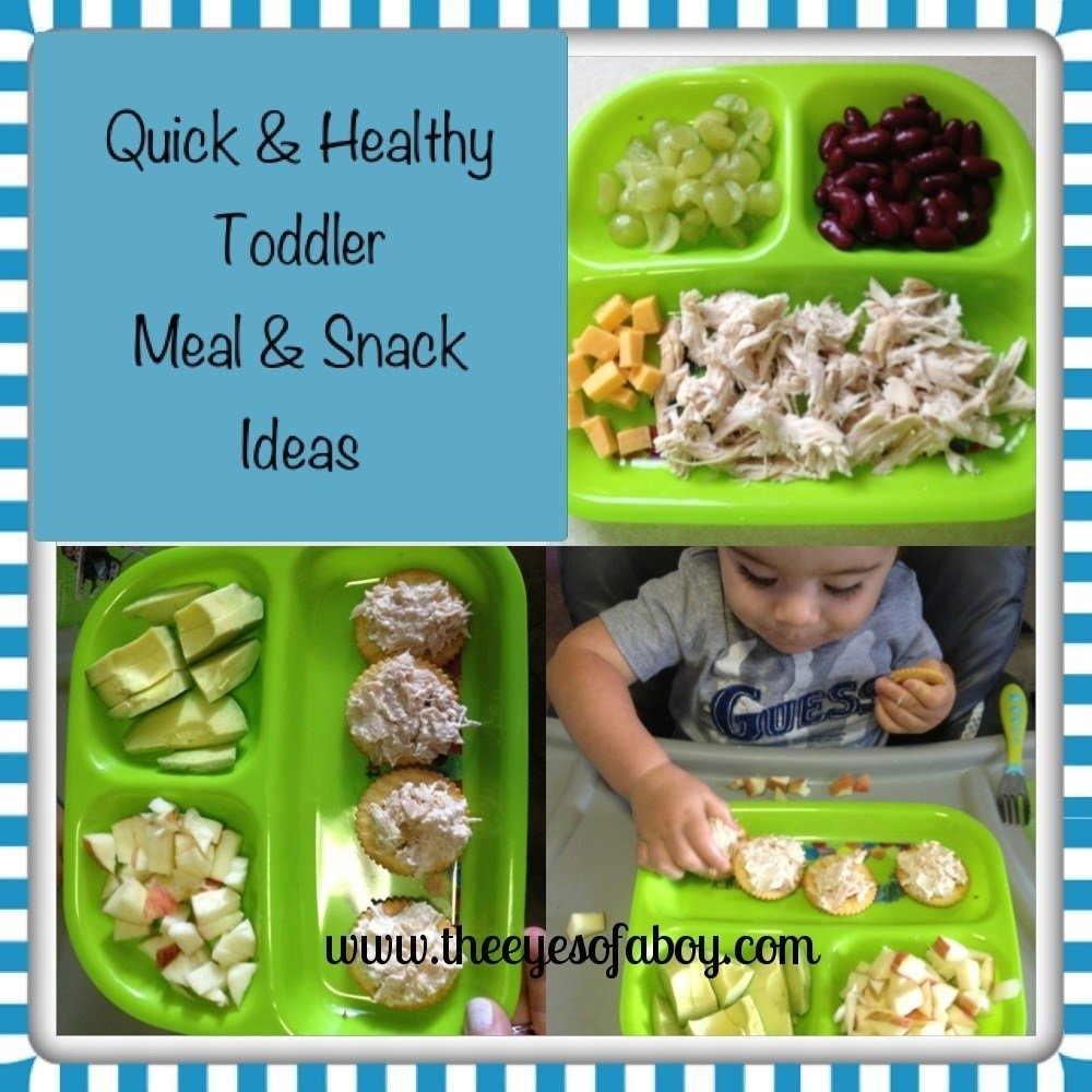 10 Attractive Healthy Lunch Ideas For Toddlers quick healthy toddler meal snack ideas the eyes of a boy 2021