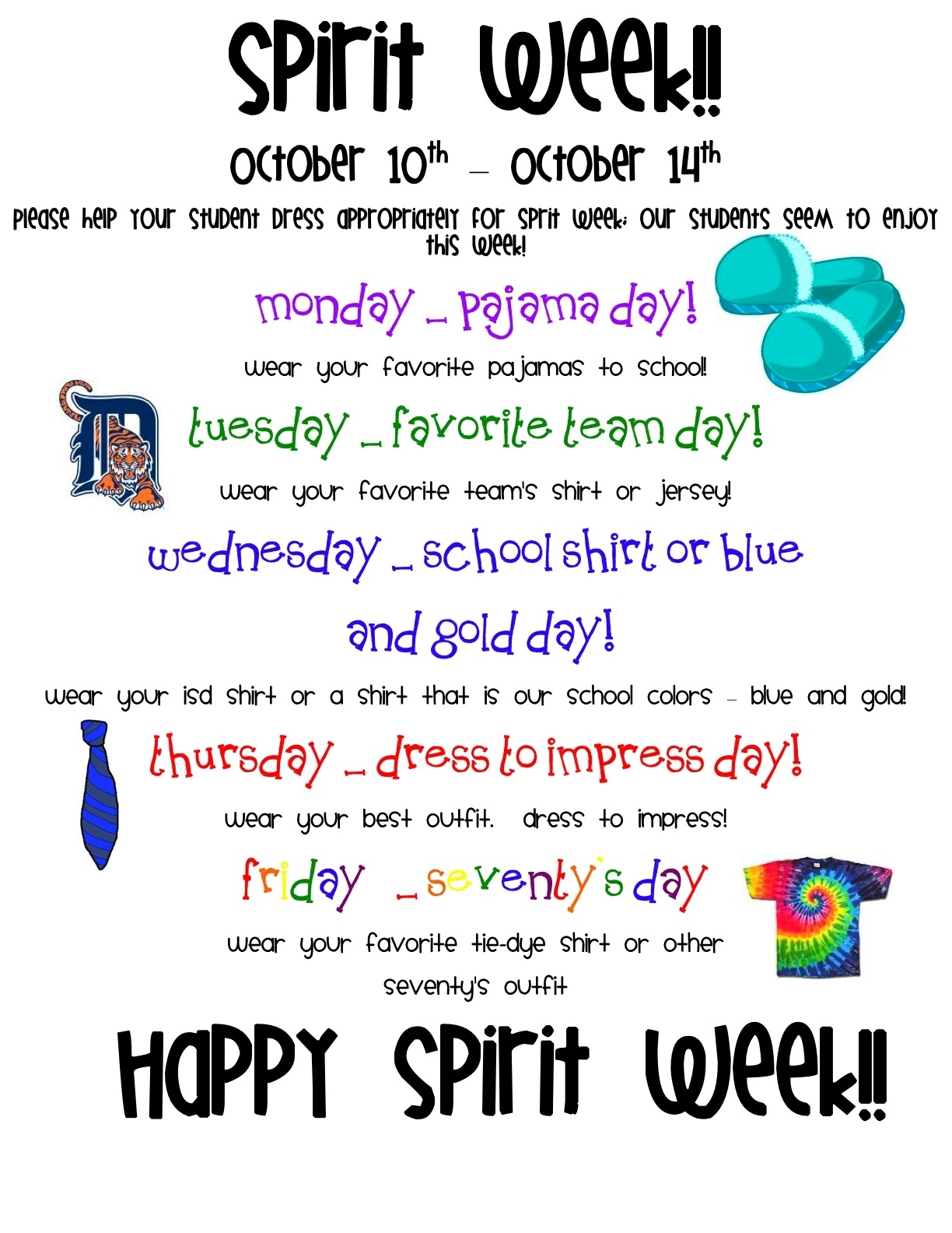 10 Trendy Spirit Day Ideas For Work %name