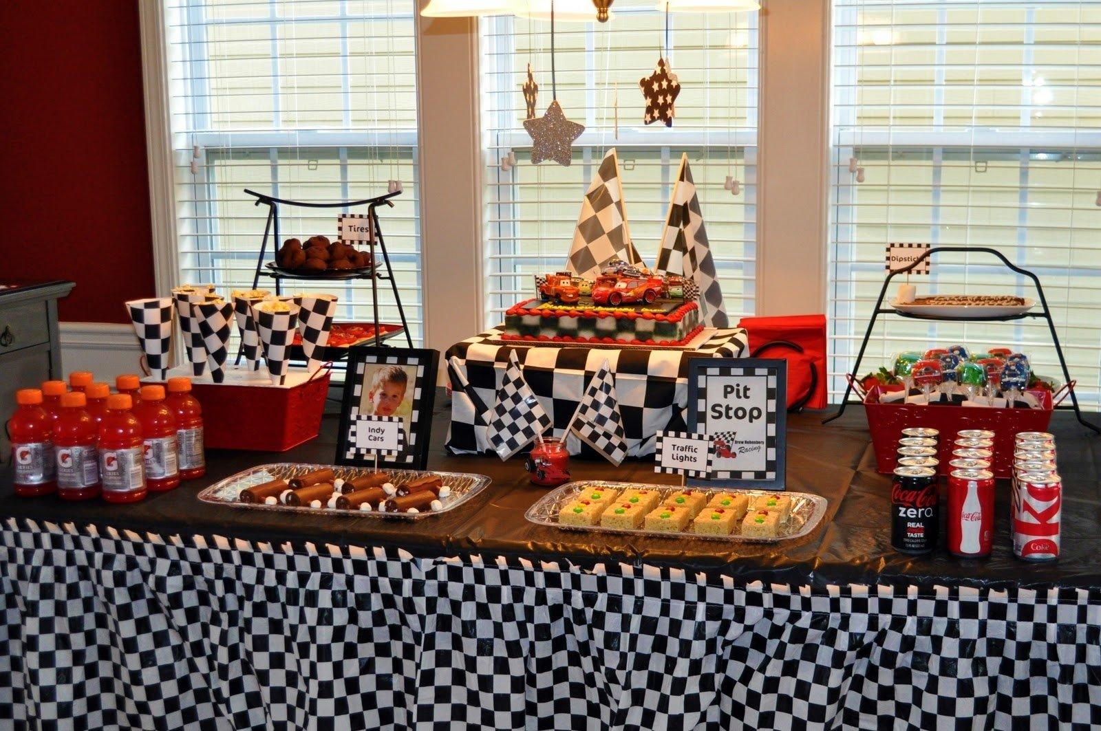 10 Stunning Race Car Birthday Party Ideas race car birthday party 2020