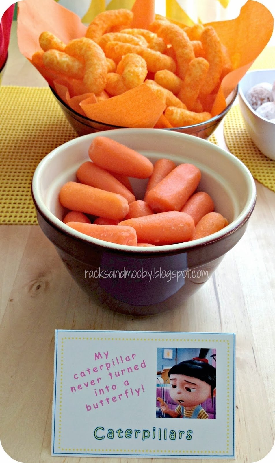 10 Stylish Despicable Me Party Food Ideas racks and mooby despicable me minion party
