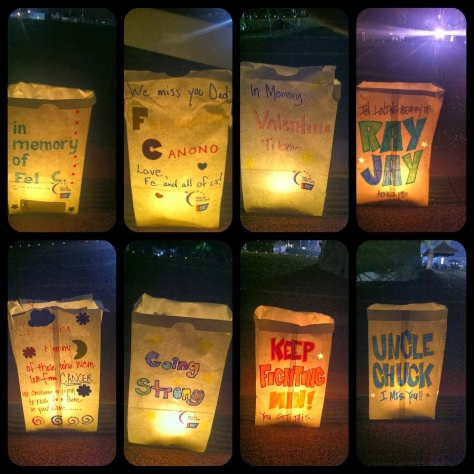 10 Most Recommended Relay For Life Luminaria Ceremony Ideas rad linc crafts relay for life 2013 1 2020