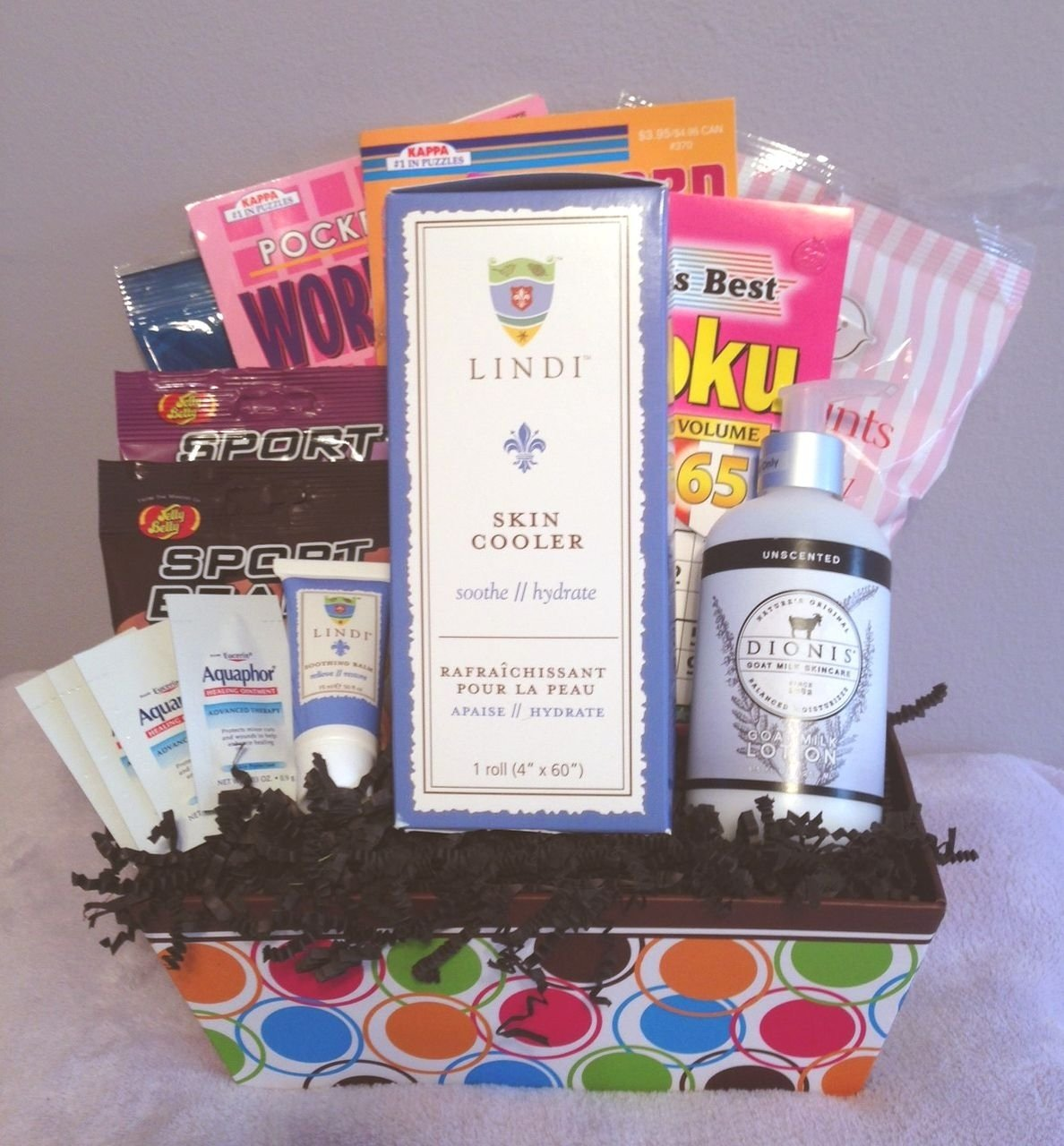 10 Great Gift Ideas For Cancer Patients radiation basket radiation therapy therapy and gift