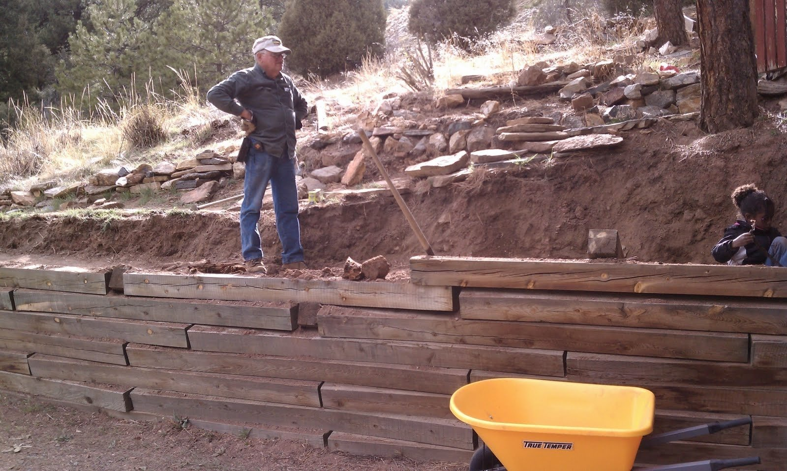 10 Best Railroad Ties Retaining Wall Ideas railroad ties for landscaping home interiror and exteriro design 2020