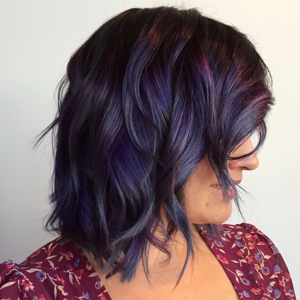 10 Awesome Hair Dye Ideas For Brunettes rainbow hair color ideas for brunettes fall winter 2016 popsugar 4