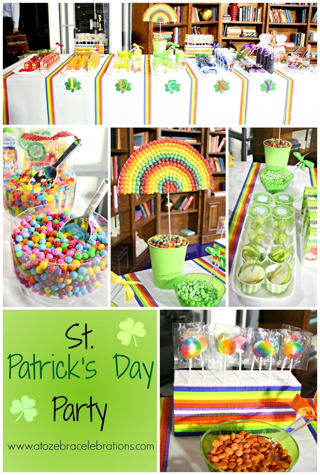 10 Lovable St Patrick Day Party Ideas rainbow party for st patricks day a to zebra celebrations 2020