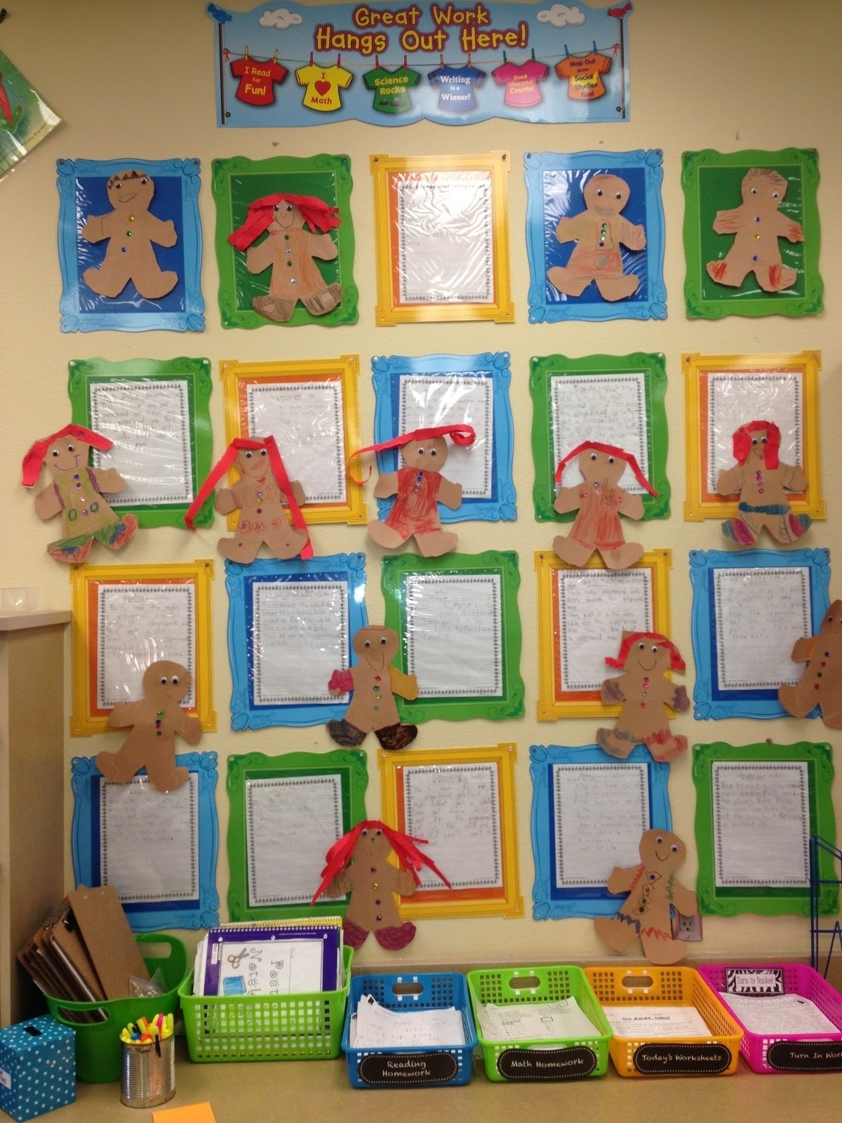 10 Perfect Gingerbread Man Bulletin Board Ideas rambling about reading gingerbread stories and decorating for christmas