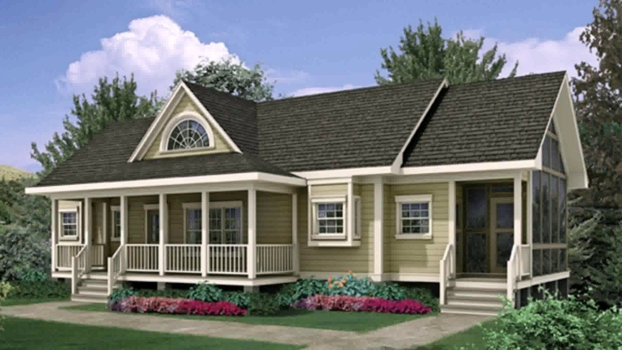 ranch style house front porch ideas - youtube