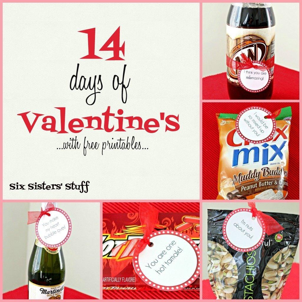 10 Beautiful 14 Days Of Valentines Ideas For Him rantin ravin valentines 2021
