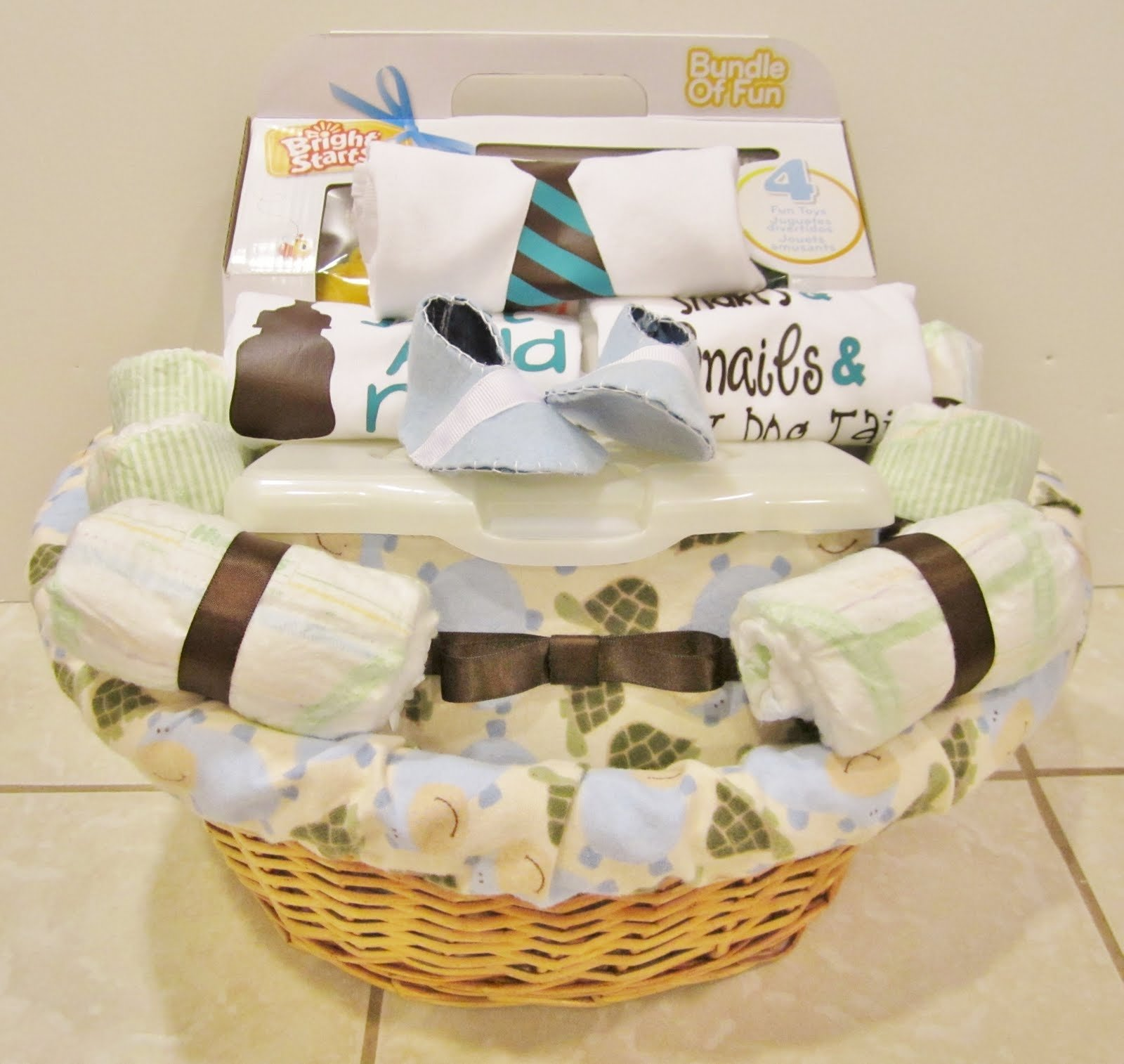 10 most popular baby boy gift basket ideas