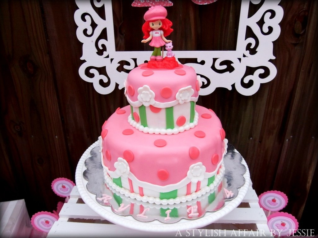 10 Attractive Strawberry Shortcake Birthday Cake Ideas readers favorite strawberry shortcake birthday strawberry 2020