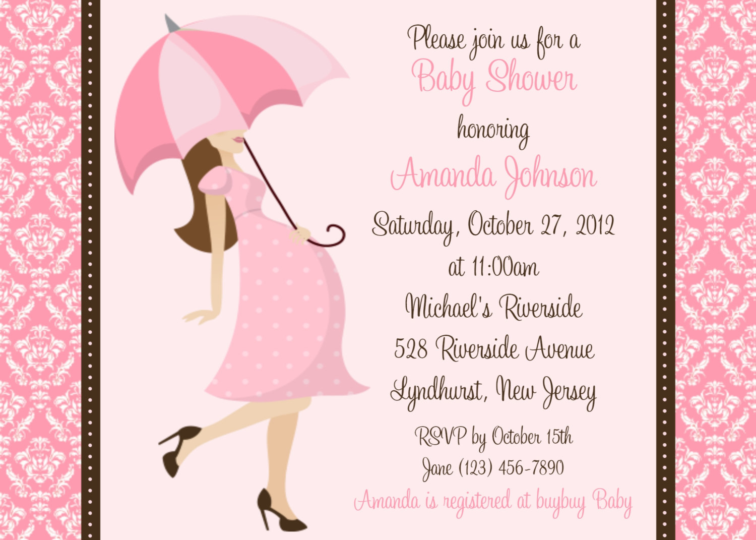 10 Nice Cute Ideas For Baby Shower Invitations real cute diy ideas for baby shower invitations for girls 2020