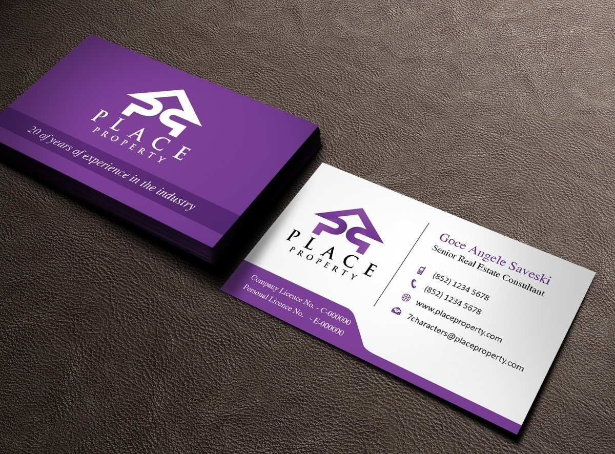 10 Beautiful Real Estate Company Names Ideas real estate business card design for a companyowaisias design 2021