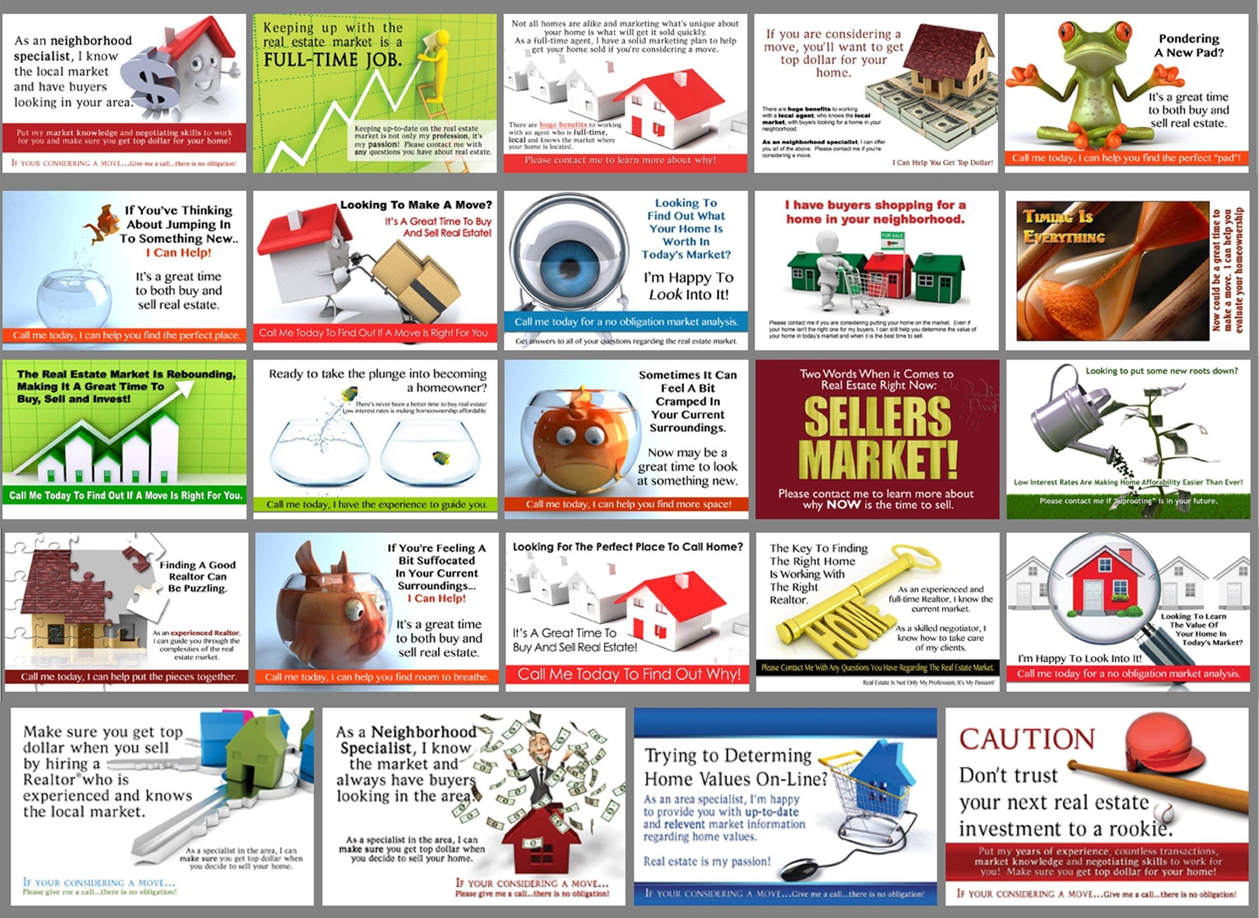 10 Spectacular Real Estate Postcard Marketing Ideas real estate marketing