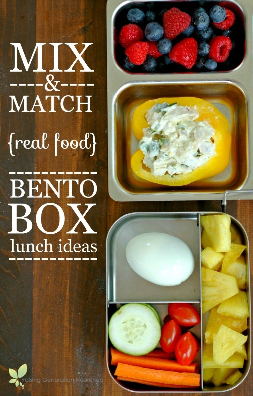 10 Elegant Healthy Bento Box Lunch Ideas real food bento box lunch ideas 2 2021
