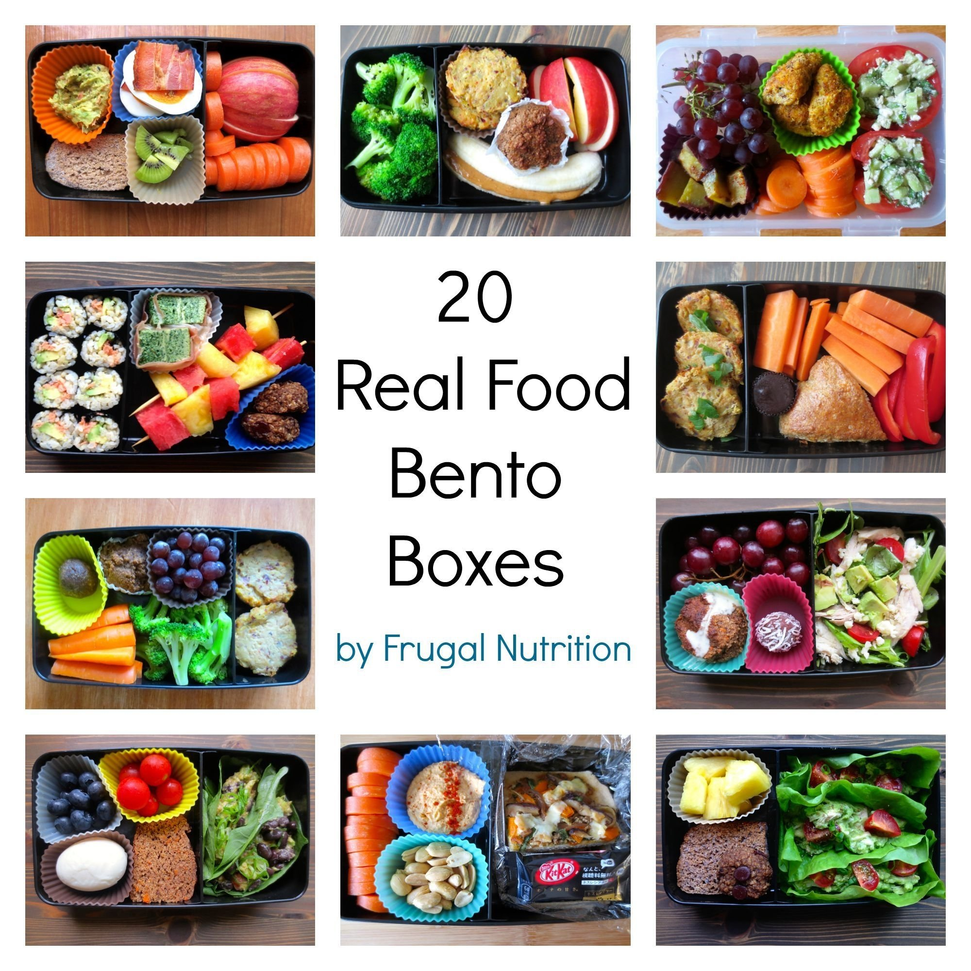 10 Nice Bento Box Ideas For Adults real food bento box round up 20 lunch box ideas frugal nutrition 2020