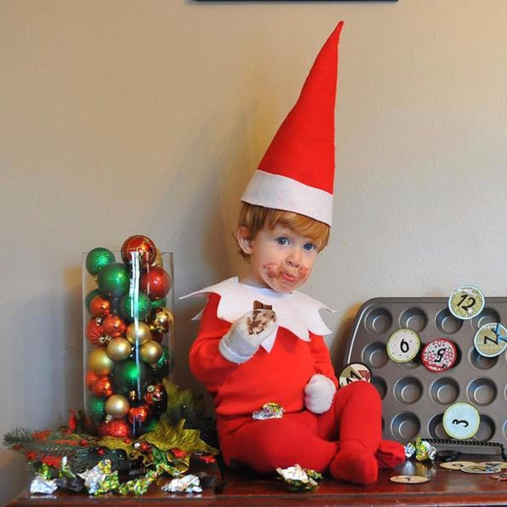 10 Cute Cool Ideas For Elf On The Shelf real life elf on the shelf ideas popsugar moms 2020