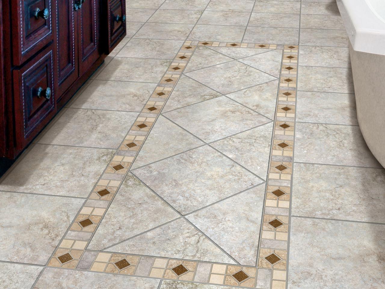 10 Great Small Bathroom Floor Tile Ideas %name 2020