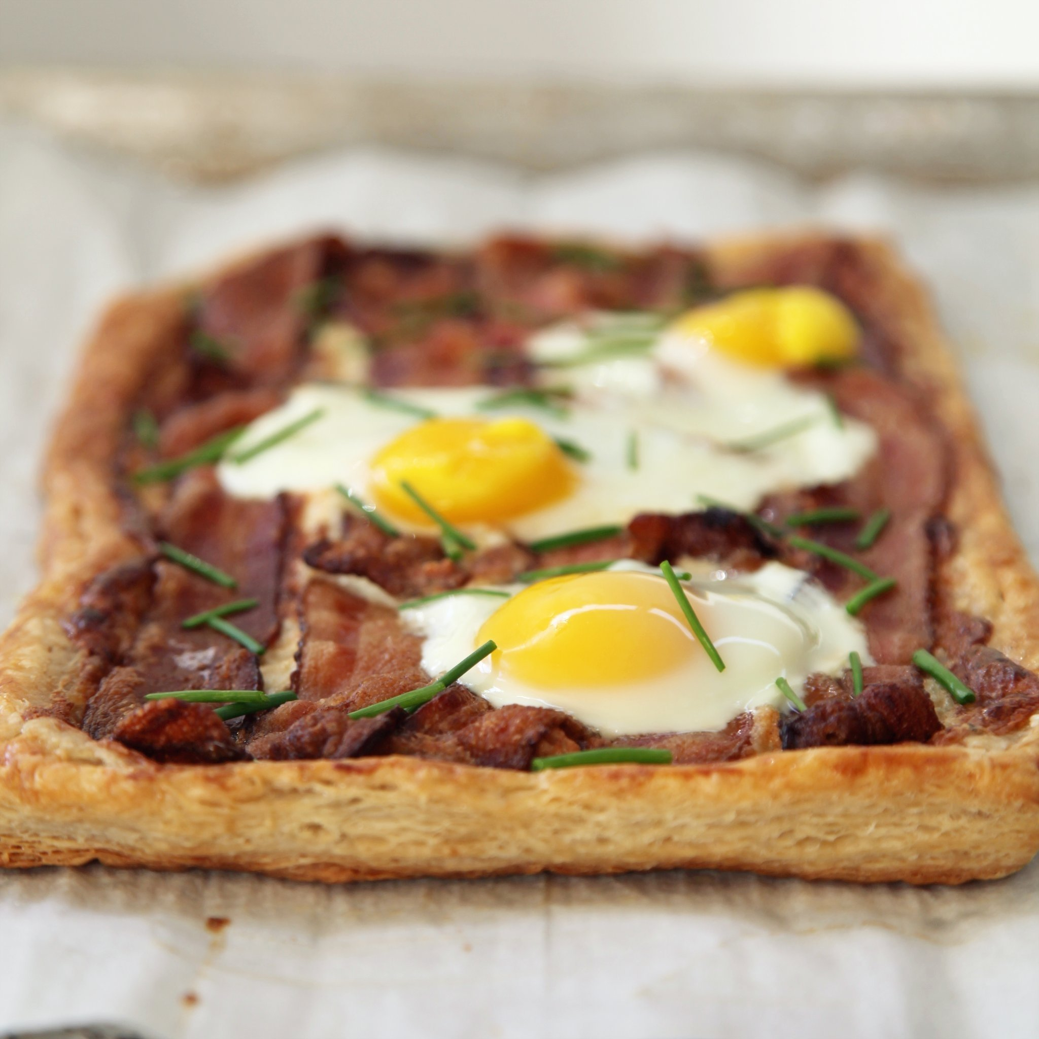 10 Fashionable Breakfast Ideas With Eggs And Bacon recipe for bacon and egg breakfast tart popsugar food 2020