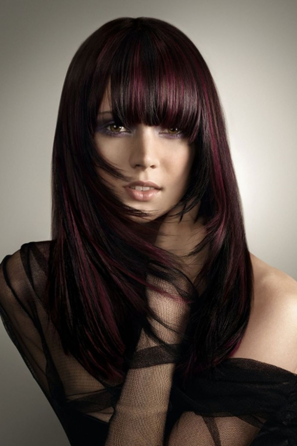 10 Trendy Red And Black Hair Color Ideas