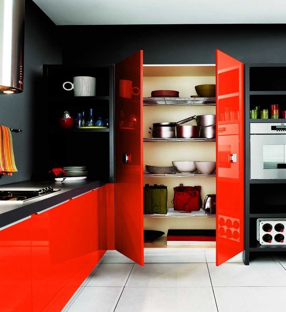 10 Attractive Red And Black Kitchen Ideas red and black kitchen decor ideas kitchen and decor 2021