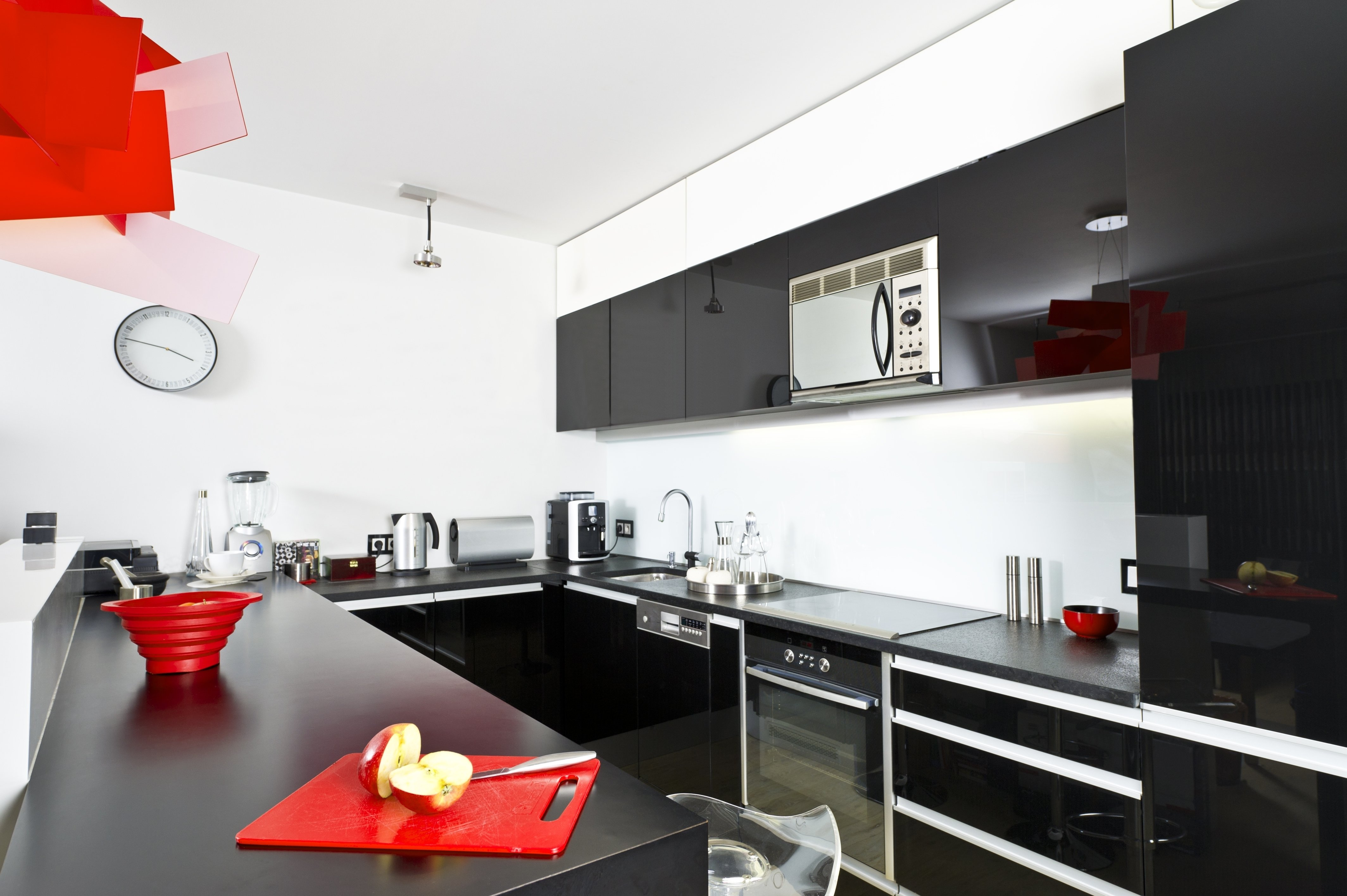10 Attractive Red And Black Kitchen Ideas red and black kitchen ideas 2017 modern house design 2021