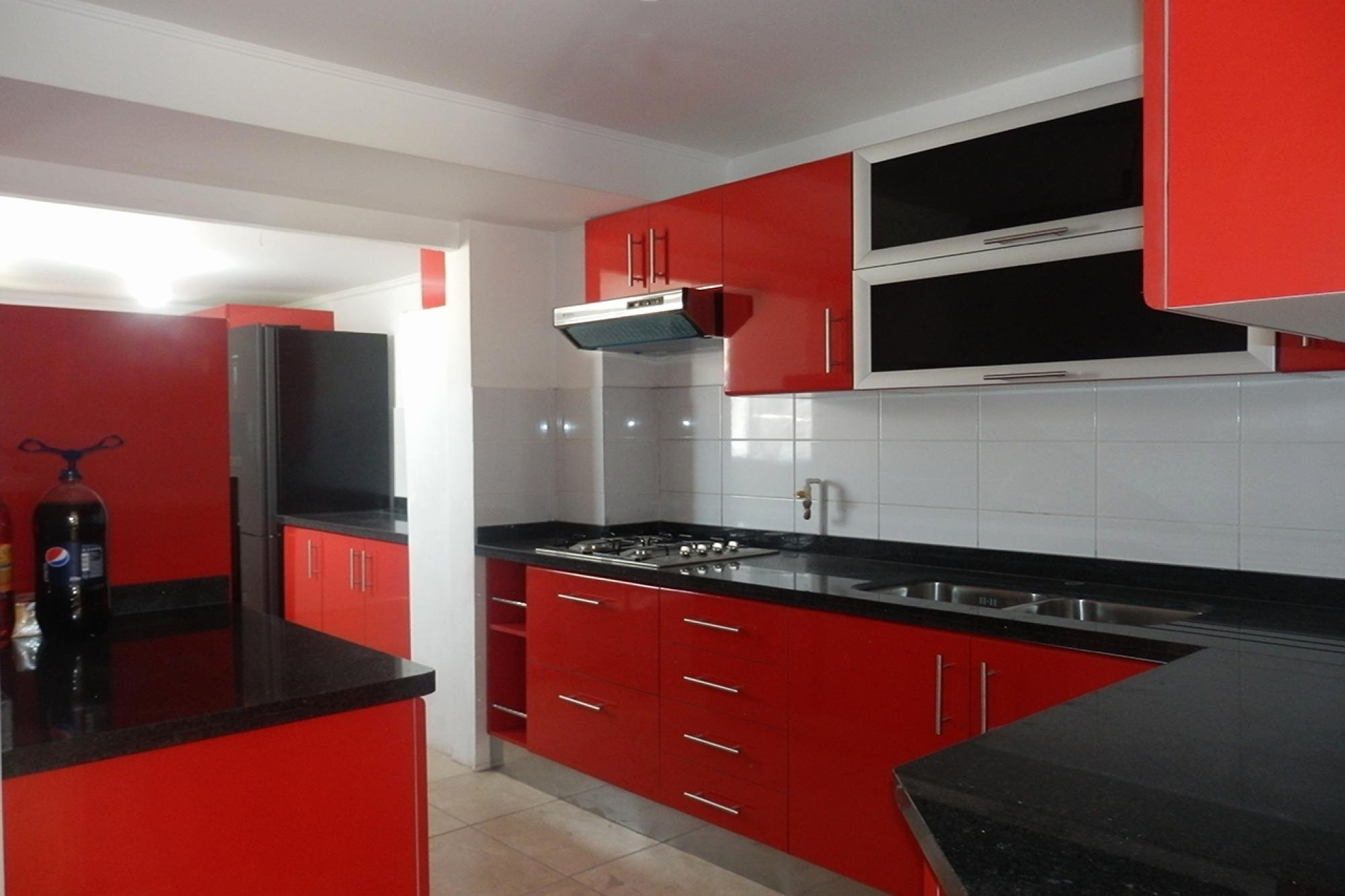 10 Attractive Red And Black Kitchen Ideas red and black kitchen ideas beautiful modern red kitchen design with 2021