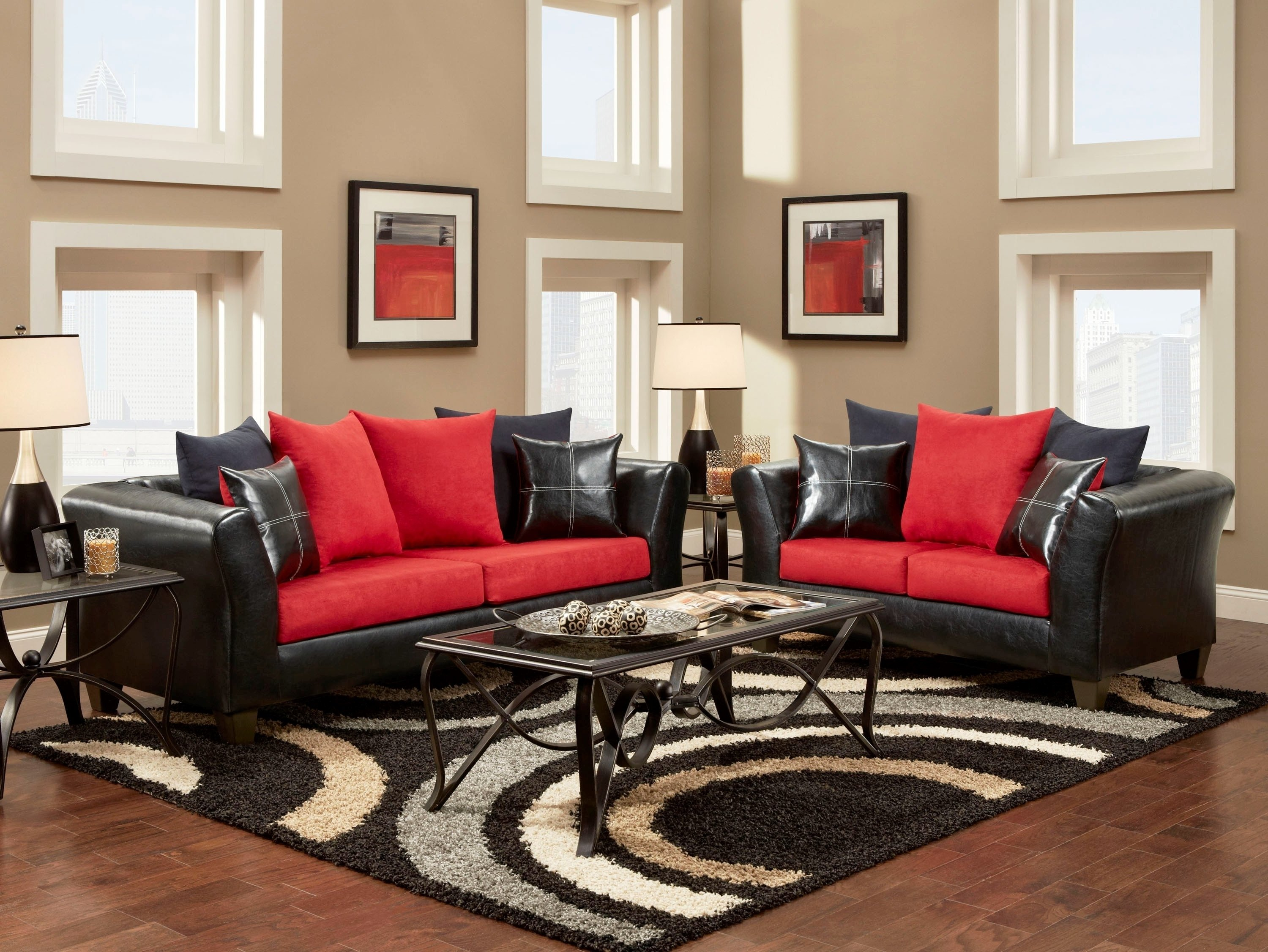 10 Beautiful Red And Black Living Room Ideas red and black living room ideas e280a2 living room design 2020