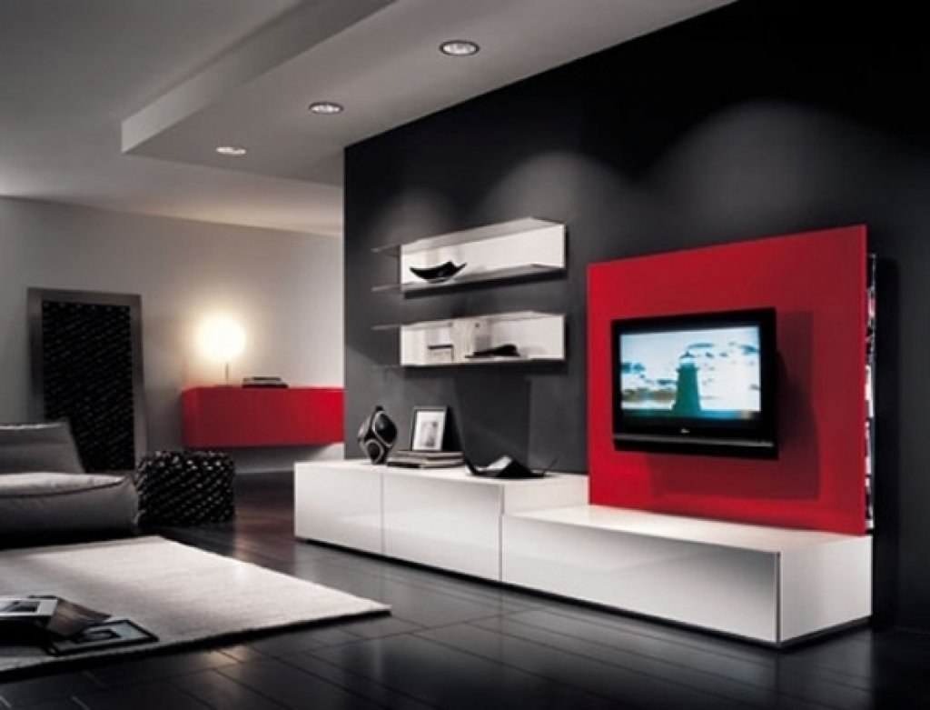 10 Beautiful Red And Black Living Room Ideas red and black living room ideas tjihome 2020