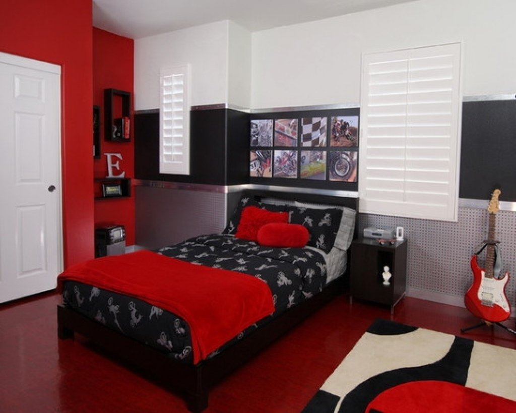 10 Cute Red Black And White Room Ideas red and white bedroom decorating ideas 48 samples for black white 2020