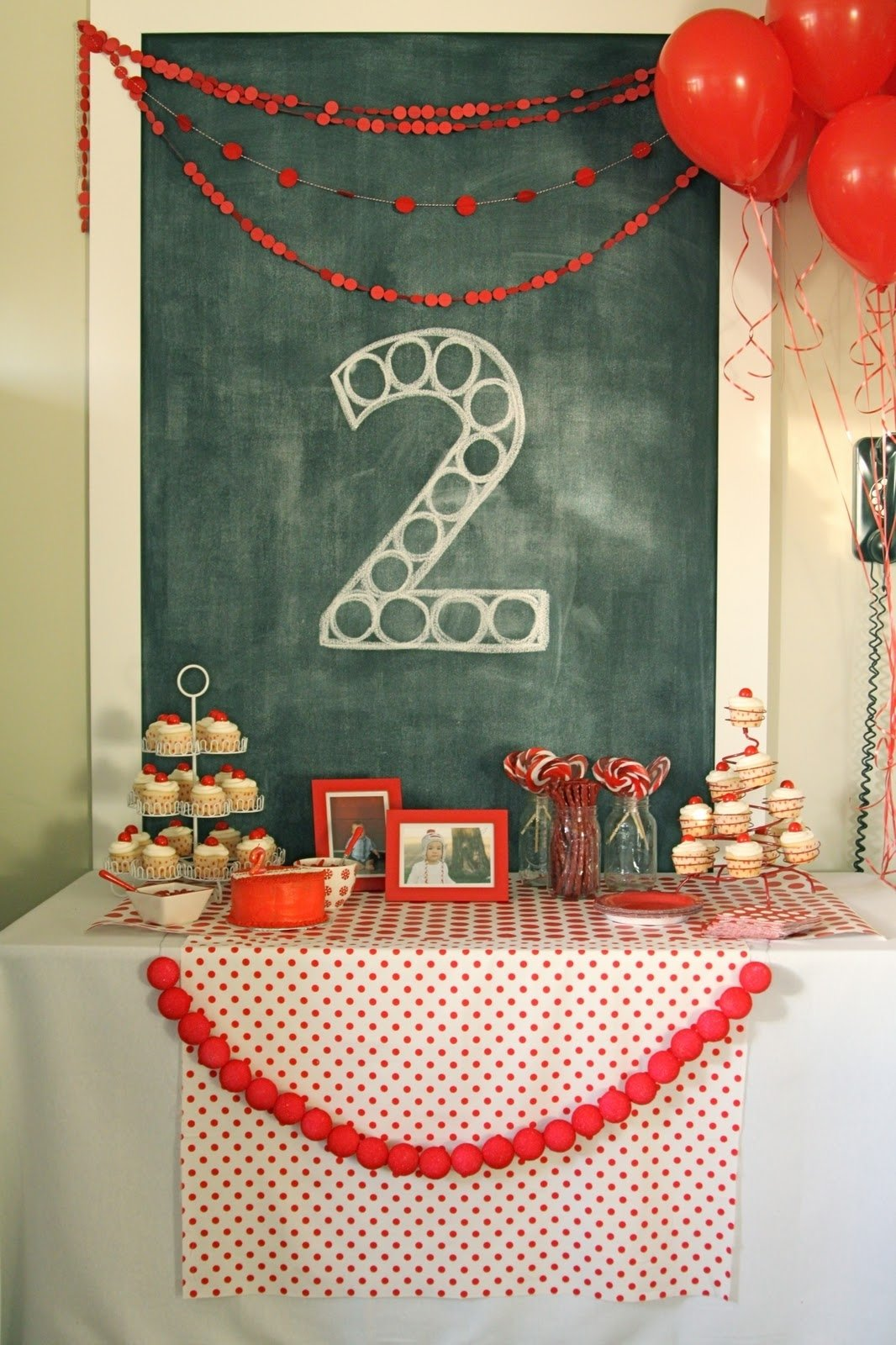 10 Nice Birthday Ideas For 2 Year Old Daughter red ball party levis second birthday the macs 2021