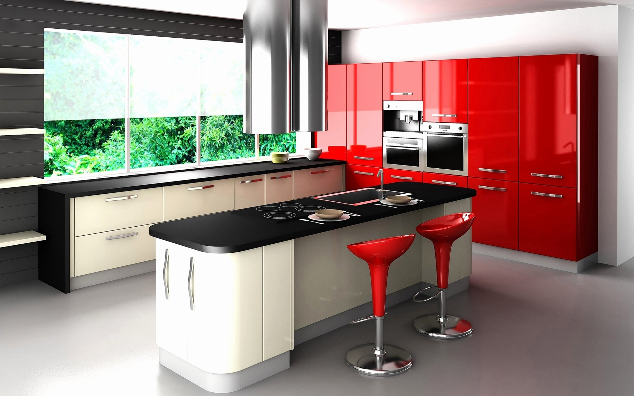 10 Attractive Red And Black Kitchen Ideas red black and white kitchen theme black white and red wall decor red 2021