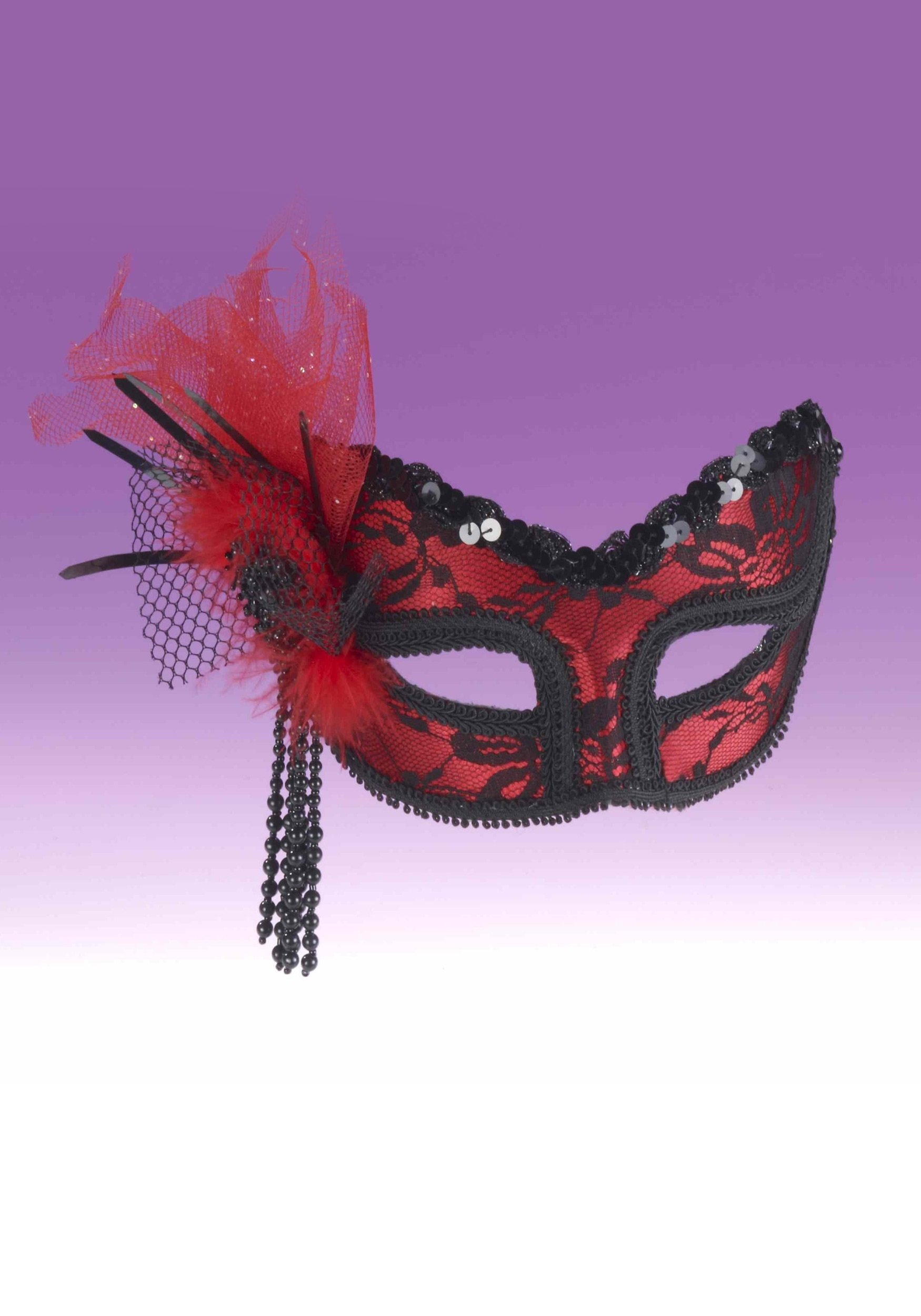 10 Great Romeo And Juliet Mask Ideas red black lace half mask