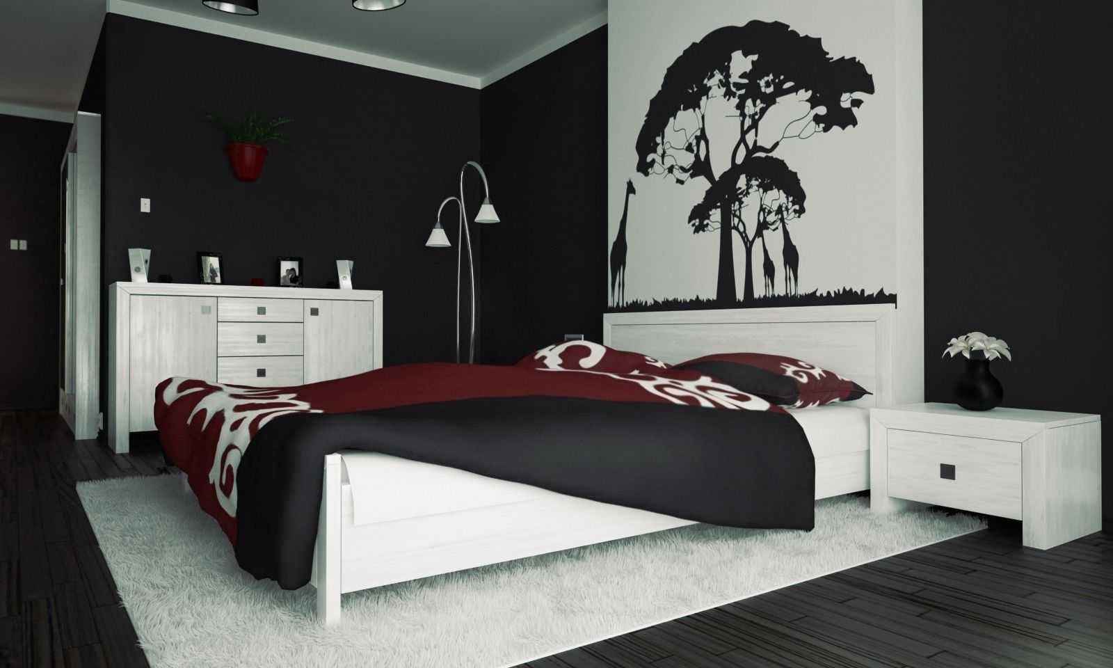 10 Lovely Red And Black Bedroom Ideas red black white grey bedroom ideas also beautiful green flag air 2020