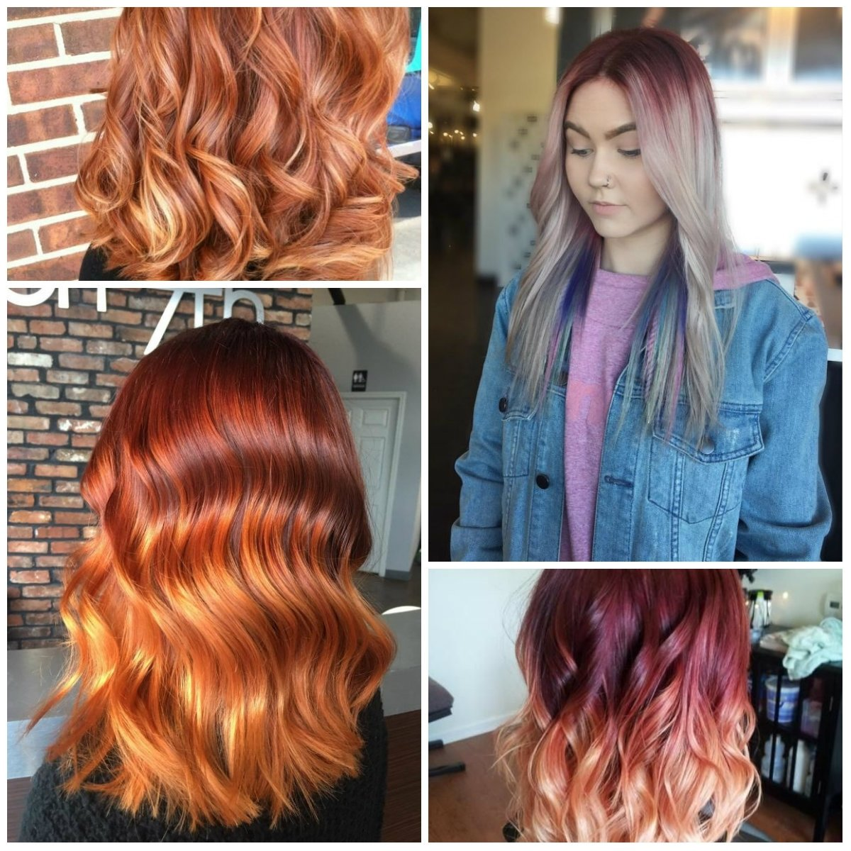 10 Amazing Red Blonde Brown Hair Color Ideas red blonde hair color ideas for 2017 best hair color ideas 7 2020