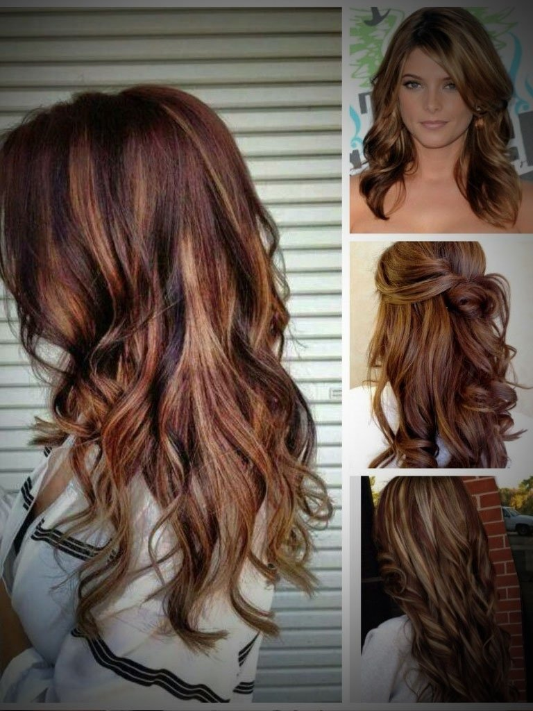 10 Stylish Dark Brown And Red Hair Color Ideas