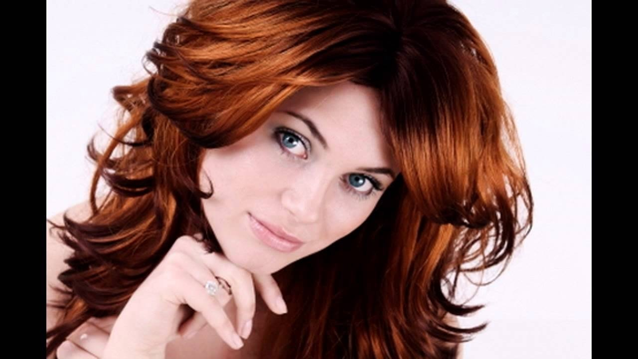 red brown hair colour ideas - youtube