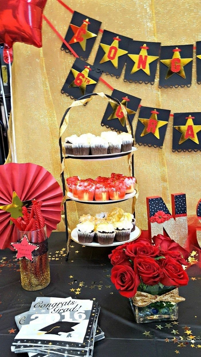 10 Fantastic 6Th Grade Graduation Party Ideas red carpet theme party for 6th grade graduation graduation party 2021