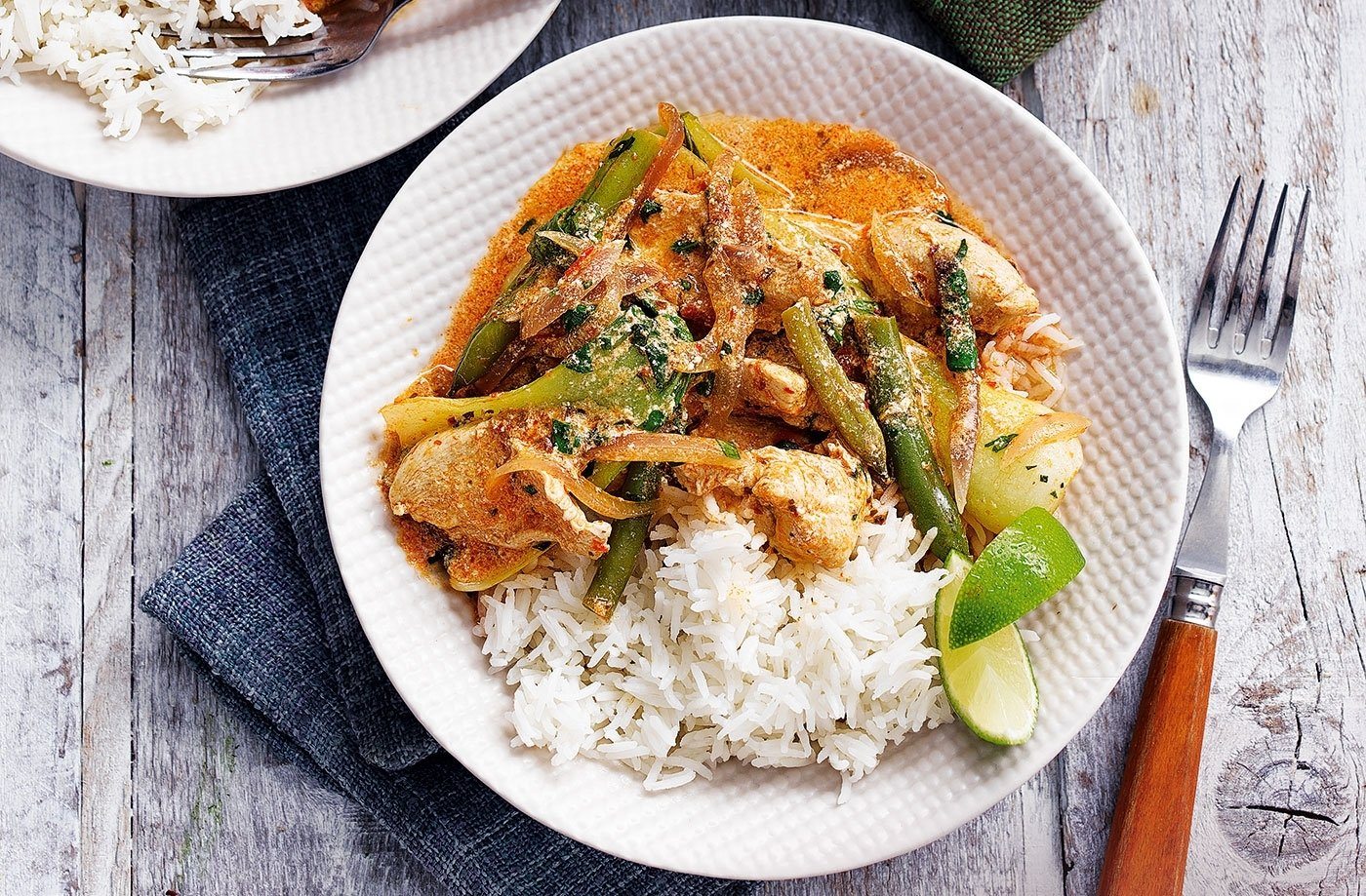red chicken curry | tesco real food