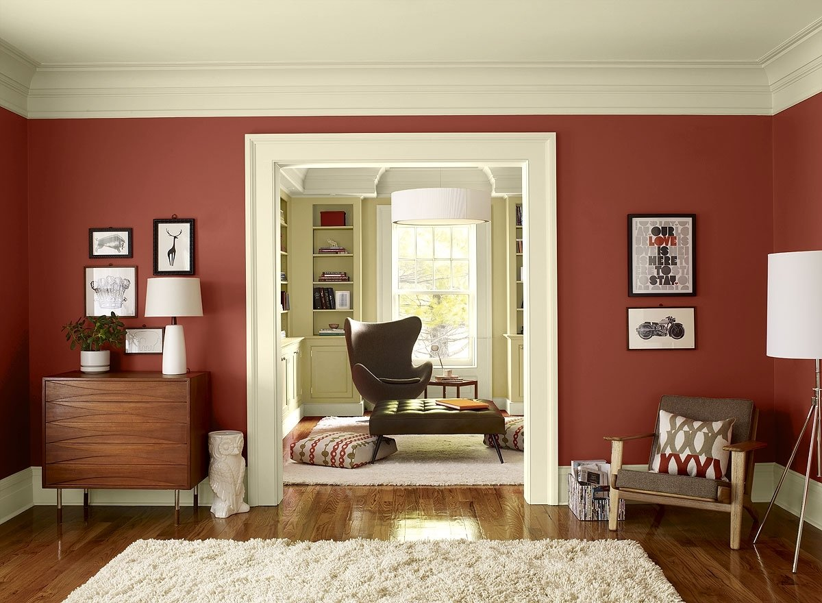 10 Lovely Living Room Paint Ideas Pictures red colors scheme living room paint colors ideas home furniture 1 2021