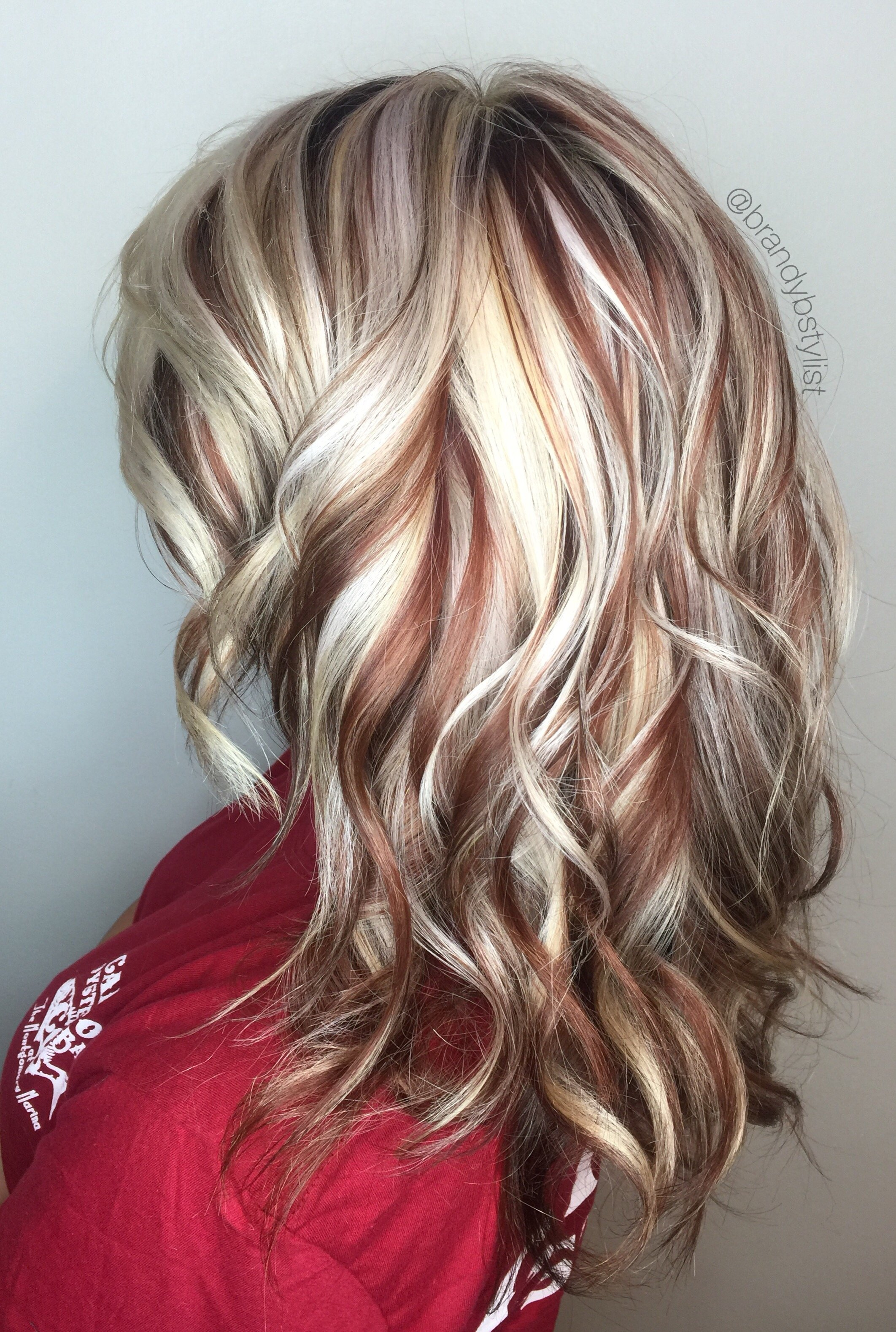 10 Stunning Hair Color With Highlights Ideas red copper highlights dark brown hair diy color and best with stock 2020