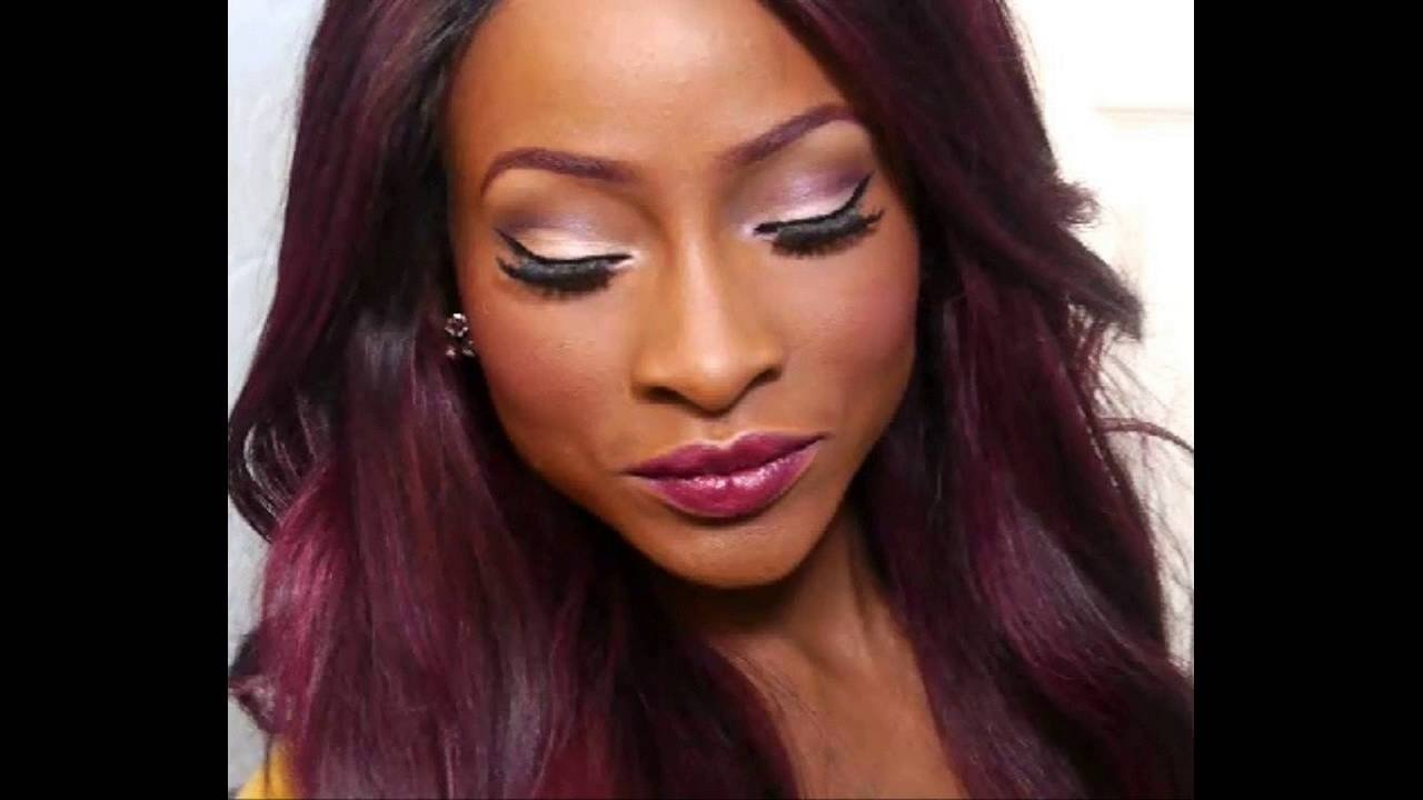 10 Most Popular Hair Color Ideas Dark Skin red hair color ideas for dark skin youtube 2021