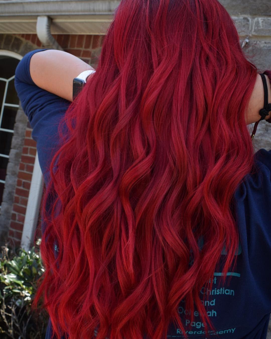 10 Cute Fun Red Hair Color Ideas red hair crimson red vibrant bright fun hair color guy tang 2020