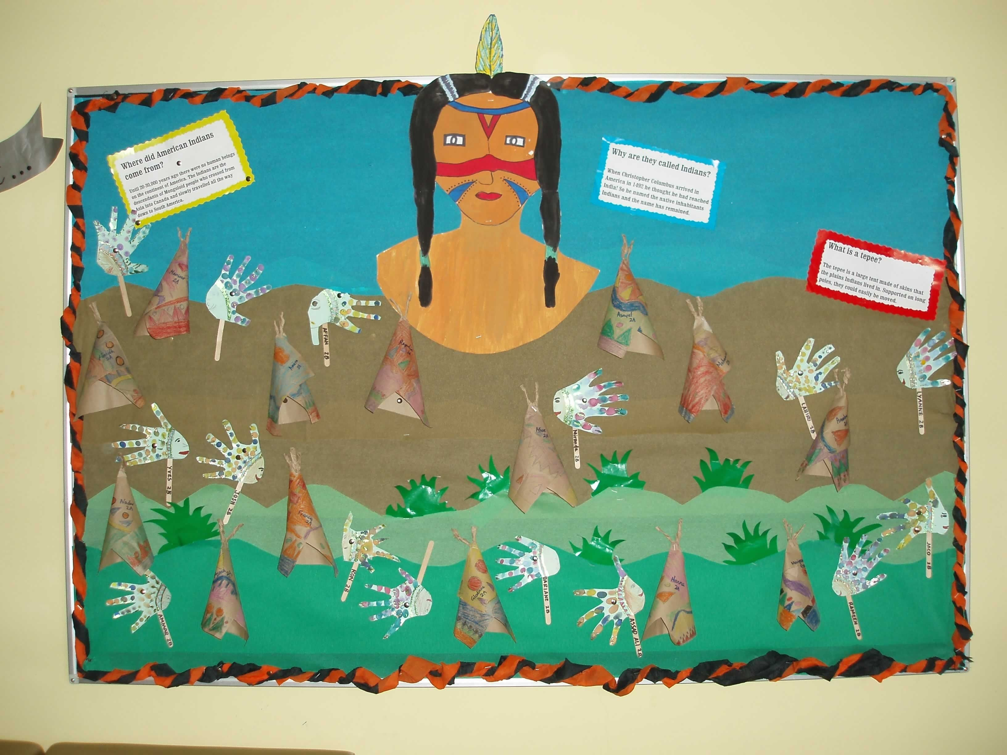 10 Most Recommended Native American Bulletin Board Ideas red indian class bulletin board bulletin board class bulletin 2020