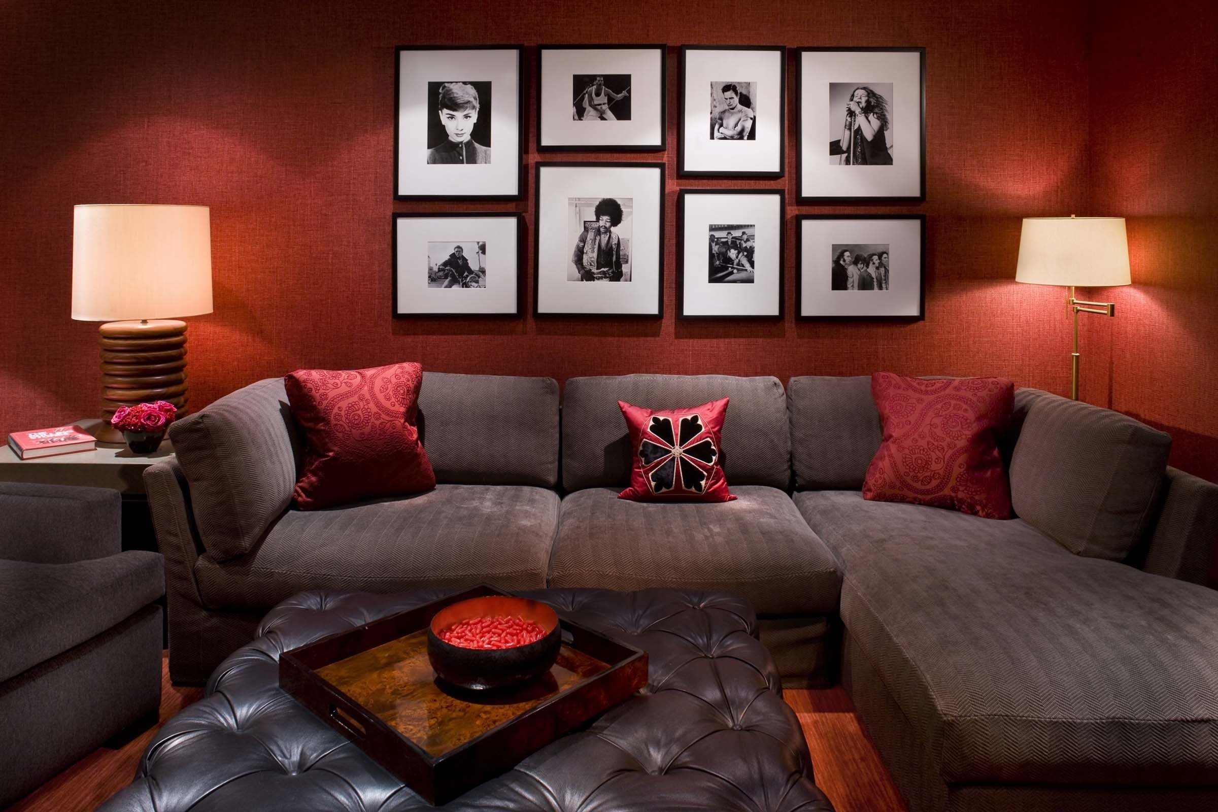10 Best Red And Brown Living Room Ideas red living room with brown furniture living room decorating design 2020