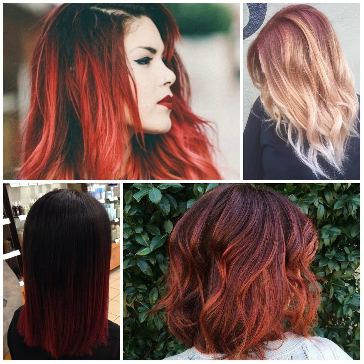 10 Lovable Brown And Red Hair Color Ideas red ombre hair colors for 2017 best hair color ideas trends in 2020